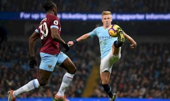 Манчестер Сити - Вест Хэм 4:1. Ожидаемая встреча Зинченко и Ярмоленко в пользу горожан