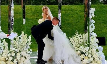 Зінченко і Седан зіграли весілля, на якому були Дан Балан і Віра Брежнєва. ВІДЕО