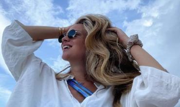 Девушка дня. Роскошная жена четырехкратного обладателя Лиги чемпионов Матео Ковачича. ФОТО