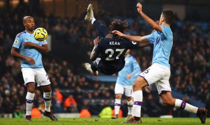 АПЛ. Манчестер Сити справляется с Эвертоном, Вест Хэм расправляется с Борнмутом