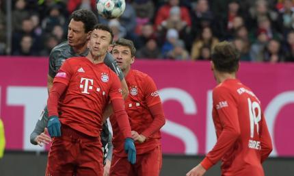 Бавария проиграла 2:5 шестнадцатой команде Бундеслиги 2