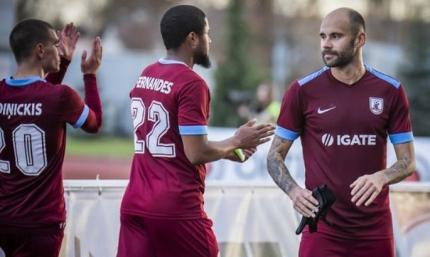 Латвийский клуб отпустил двух украинцев свободными агентами