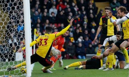 Уотфорд - Тоттенхэм 0:0. Видеообзор матча