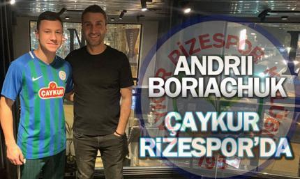 Ризеспор арендовал Борячука до конца сезона