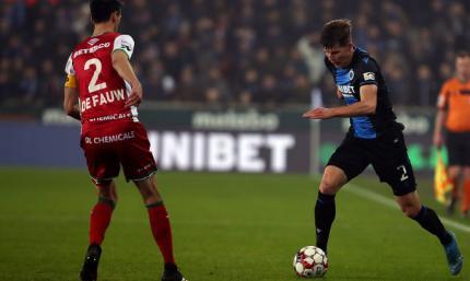 Соболь сыграл в ничейном матче 1/2 Кубка Бельгии