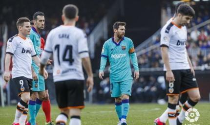 А при Вальверде такое было? Валенсия - Барселона 2:0. Видео голов и обзор матча