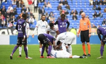 Хавбек Ліона знепритомнів і впав на газон під час матчу з Тулузою