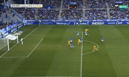 Лунін привіз пенальті у ворота Ов'єдо в матчі з командою Сергія М'якушка. ВІДЕО