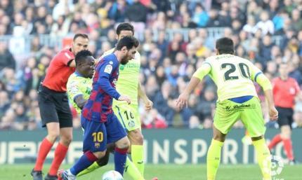 Коли фаворит втримує рахунок. Барселона – Гетафе 2:1. Огляд матчу і відео голів
