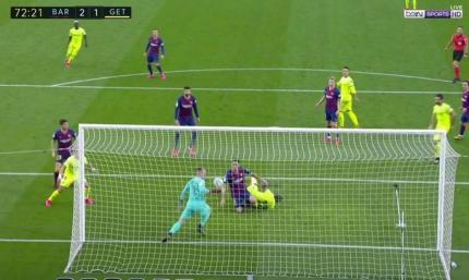 Неймовірний тер Штеген. Як голкіпер врятував Барселону від голу за рахунку 2:1. ВІДЕО