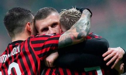 Серия А. Милан сравнивается с шестым местом