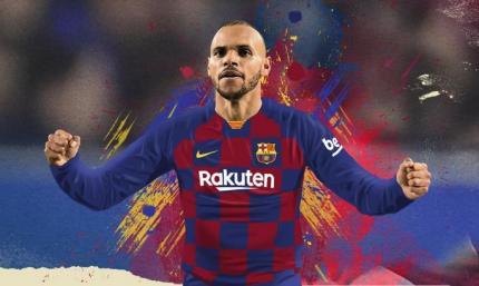 Официально: Брайтвайт – игрок Барселоны