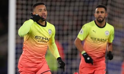Лестер - Манчестер Сити 0:1. Агуэро создает проблемы, Жезус решает