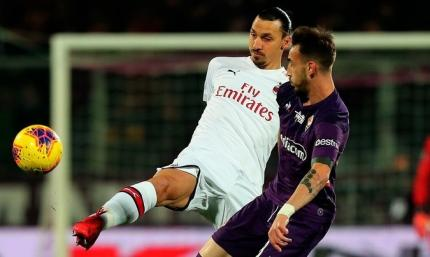 Серия А. Милан теряeт победу в численном большинстве