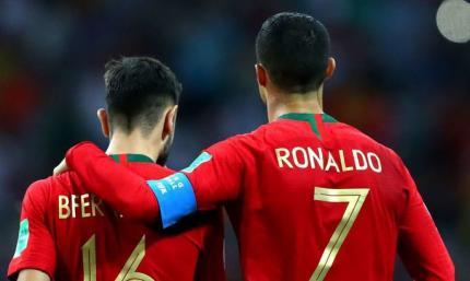 Бруну Фернандеш: Все футболисты сборной Португалии смотрят на Роналду как на кумира