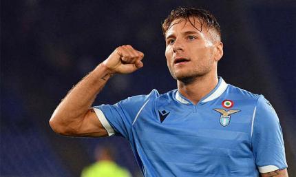 Лацио продлит контракт с Иммобиле до 2025 года