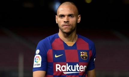 Барселона не продаст Брайвайта менее, чем за 18 миллионов