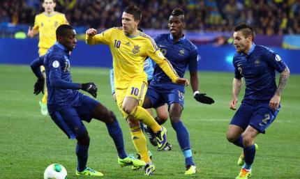 Украина против Чемпионов. Как сине-желтые играли против грандов. ВИДЕО