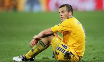 В этот день восемь лет назад. Гусев оформил дубль за сборную, но счастливая серия Олега Анатольевича оборвалась