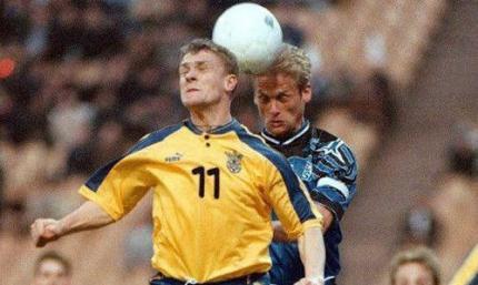 Сергей Ребров назвал самый яркий матч сборной Украины конца 1990-х
