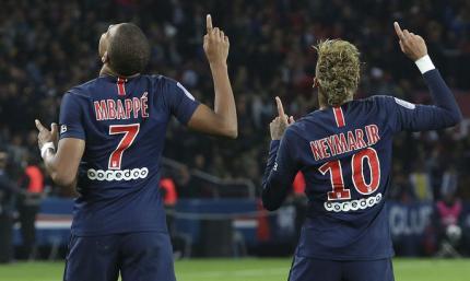 L'Equipe составил символическую сборную Лиги 1. Неймар, Мбаппе и Ренату Саншеш в составе