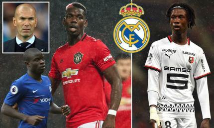 Marca: Реалу не нужен Погба – Зидан собирается усилить центр поля другим французом