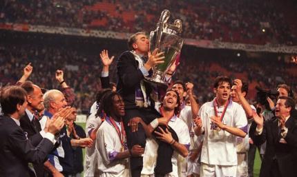 22 года назад Реал прервал серию без побед в КЕЧ / ЛЧ. Президент Санс осуществил свою мечту