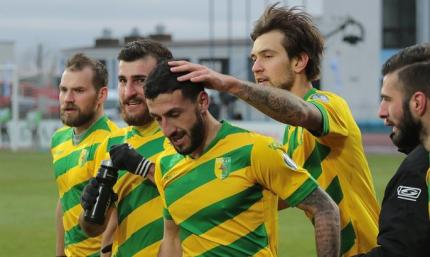 Неман - Торпедо-БелАЗ 3:1. Волевая победа, несмотря на гол украинца