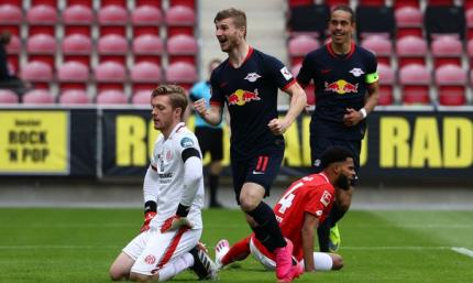 Бундеслига. РБ Лейпциг любит Майнц - 13:0 по сумме двух матчей