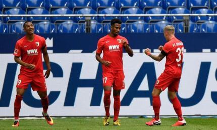 Шальке - Аугсбург 0:3. Обзор матча и видео голов