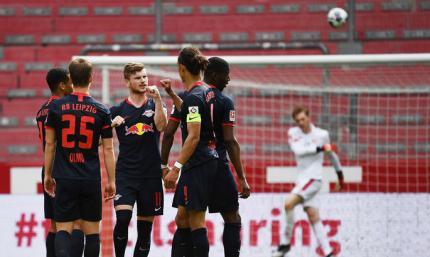 Майнц - РБ Лейпциг 0:5. Обзор матча и видео голов