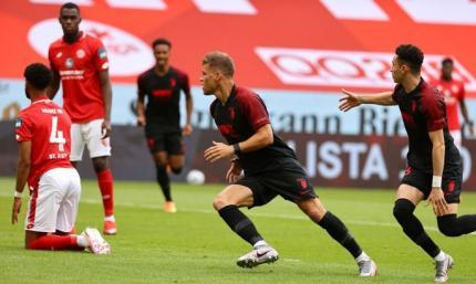 Бундеслига. Аугсбург выиграл у Майнца матч за шесть очков