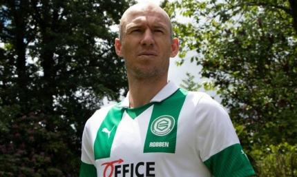 Роббен возобновил карьеру игрока и вернулся в Гронинген
