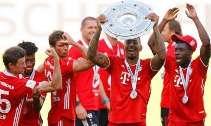 Бавария выиграла 4:0, Дортмунд проиграл 0:4. Завершился регулярный сезон Бундеслиги