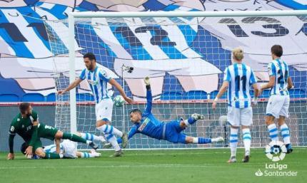 Примера. 33-й тур. Реал Сосьедад почувствовал вкус побед