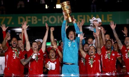 Байер - Бавария 2:4. Дубль во втором сезоне подряд, двадцатая победа в Кубке