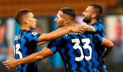 Серия А. Интер - Наполи 2:0. Полный реванш за Кубок
