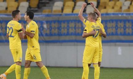 Известны три спарринг-соперника сборной Украины перед Евро-2020