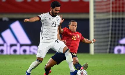 Германия - Испания 1:1. Последние секунды решают все