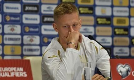 Зинченко: Это была моя ошибка, что не попросил замену в матче с Германией
