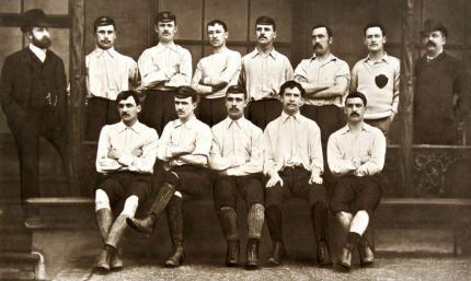 Знаменательная дата: ровно 132 года назад стартовал первый чемпионат Англии по футболу