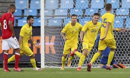 Украинская молодёжка обыграла Финляндию в отборе на Евро-2021