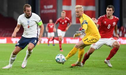 Англия - Дания. Прогноз на матч Лиги Наций