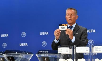Відбулось жеребкування раунду плей-офф Ліги Європи