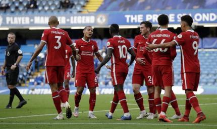 Челси - Ливерпуль 0:2. Видео голов и обзор матча