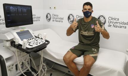 Офіційно: Суарес підписав дворічний контракт з Атлетіко