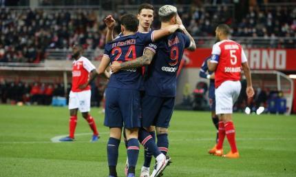 Икарди порешал. Реймс - ПСЖ 0:2. Видео голов и обзор матча
