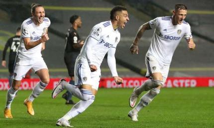 Белые останавливают горожан. Лидс - Манчестер Сити 1:1. Видеообзор матча