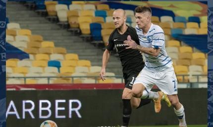 Динамо - Заря 1:1. Обзор матча и видео голов