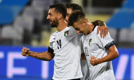 Италия надругалась над Молодовой, забив шесть безответных голов